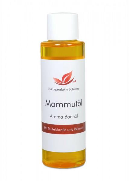 Mammutöl - Aroma-Badeöl mit Teufelskralle und Beinwell