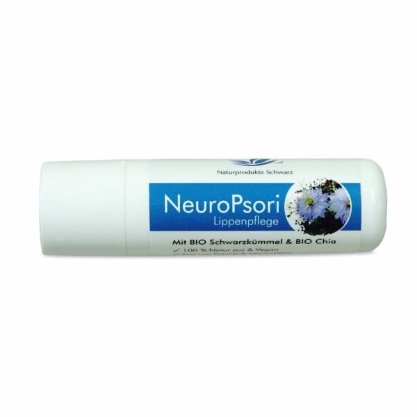 NeuroPsori Lippenpflege - Mit BIO Schwarzkümmelöl & BIO Chia Öl - Bei Neurodermitis und Psoriasis