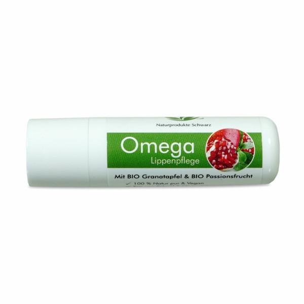 Omega Lippenpflege - Ohne Glycerin - Mit BIO Granatapfel