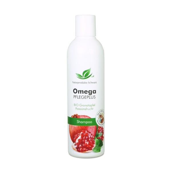Omega Pflegeplus Shampoo Granatapfel - Für feines Haar - Ohne Silikone