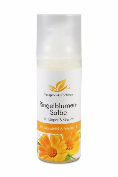 Ringelblumensalbe mit Mandelöl + Vitaminen A und E