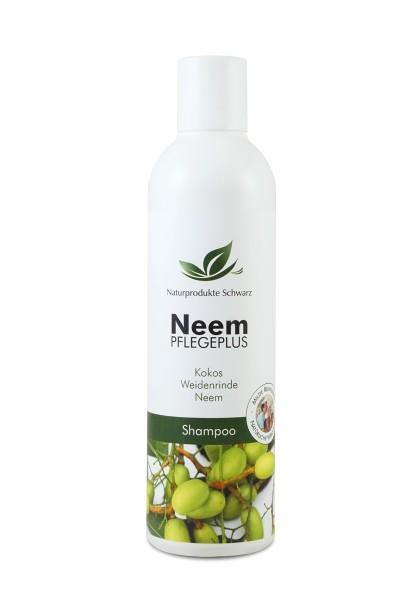 Neem Pflegeplus Shampoo mit Neem, Weidenrinde und Kokos - Ohne Silikone