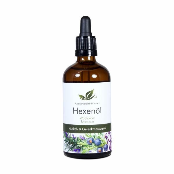 Hexenöl - Massageöl bei Verspannungen und Muskelkater