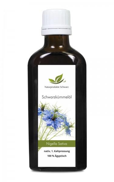 Schwarzkümmelöl ägyptisch - nativ, kaltgepresst (Nigella sativa)